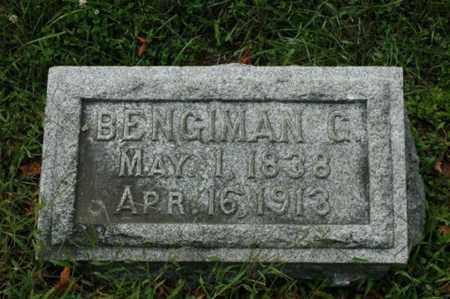 MIZER, BENGIMAN G. - Tuscarawas County, Ohio | BENGIMAN G. MIZER - Ohio Gravestone Photos