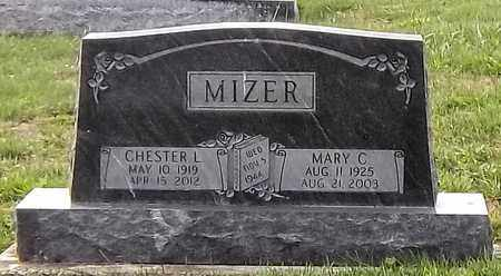 TROENDLY MIZER, MARY C. - Tuscarawas County, Ohio | MARY C. TROENDLY MIZER - Ohio Gravestone Photos