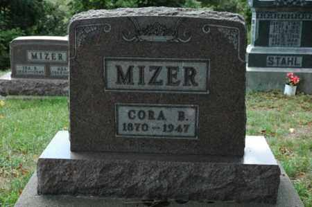 MIZER, CORA B. - Tuscarawas County, Ohio | CORA B. MIZER - Ohio Gravestone Photos