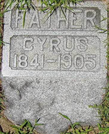 MIZER, CYRUS - Tuscarawas County, Ohio | CYRUS MIZER - Ohio Gravestone Photos