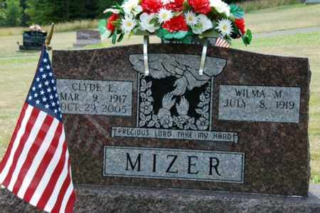 MIZER, CLYDE E. - Tuscarawas County, Ohio | CLYDE E. MIZER - Ohio Gravestone Photos