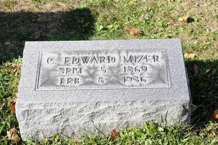MIZER, C. EDWARD - Tuscarawas County, Ohio | C. EDWARD MIZER - Ohio Gravestone Photos