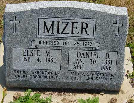 MIZER, DANIEL D. - Tuscarawas County, Ohio | DANIEL D. MIZER - Ohio Gravestone Photos