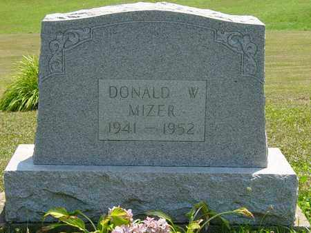 MIZER, DONALD W. - Tuscarawas County, Ohio | DONALD W. MIZER - Ohio Gravestone Photos