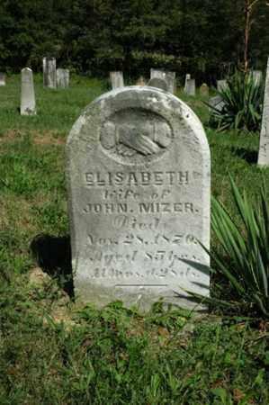 MIZER, ELISABETH - Tuscarawas County, Ohio | ELISABETH MIZER - Ohio Gravestone Photos