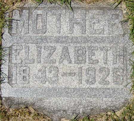 PFOUTS MIZER, ELIZABETH - Tuscarawas County, Ohio | ELIZABETH PFOUTS MIZER - Ohio Gravestone Photos