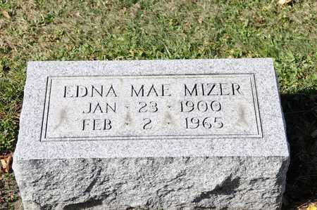 MIZER, EDNA MAE - Tuscarawas County, Ohio | EDNA MAE MIZER - Ohio Gravestone Photos