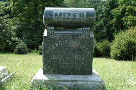 MIZER, FRANCIS C. - Tuscarawas County, Ohio | FRANCIS C. MIZER - Ohio Gravestone Photos