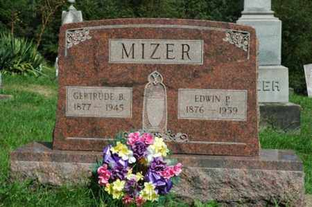 MIZER, EDWIN P. - Tuscarawas County, Ohio | EDWIN P. MIZER - Ohio Gravestone Photos