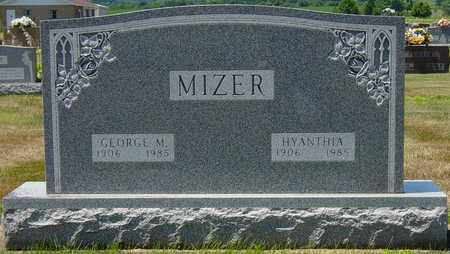 SHIVELY MIZER, HYANTHIA - Tuscarawas County, Ohio | HYANTHIA SHIVELY MIZER - Ohio Gravestone Photos