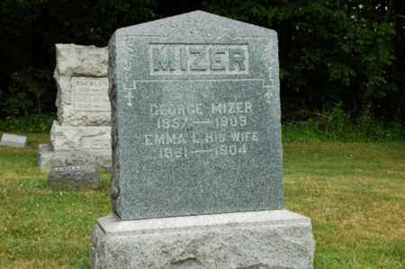 MIZER, EMMA - Tuscarawas County, Ohio | EMMA MIZER - Ohio Gravestone Photos