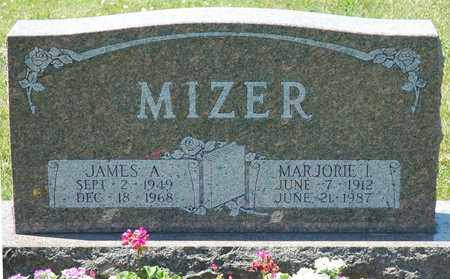 MIZER, JAMES A. - Tuscarawas County, Ohio | JAMES A. MIZER - Ohio Gravestone Photos
