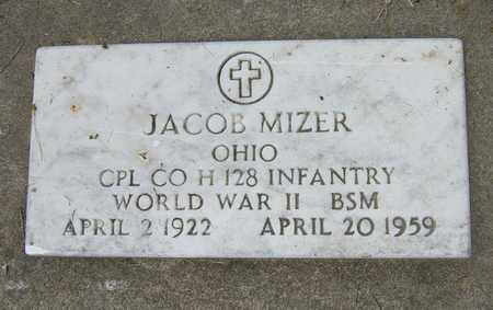 MIZER, JACOB - Tuscarawas County, Ohio | JACOB MIZER - Ohio Gravestone Photos