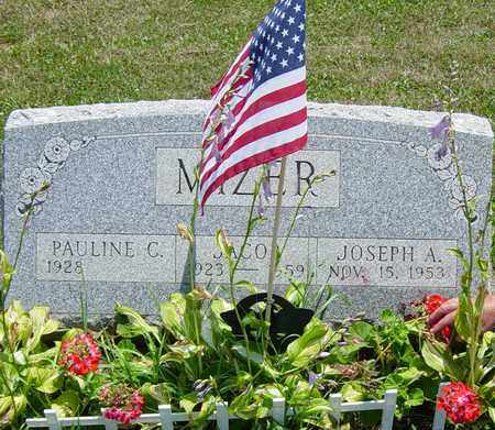 MIZER, JOSEPH A. - Tuscarawas County, Ohio | JOSEPH A. MIZER - Ohio Gravestone Photos