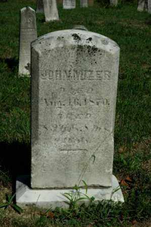 MIZER, JOHN - Tuscarawas County, Ohio | JOHN MIZER - Ohio Gravestone Photos