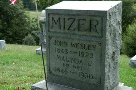 MIZER, JOHN WESLEY - Tuscarawas County, Ohio | JOHN WESLEY MIZER - Ohio Gravestone Photos