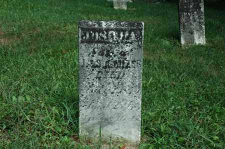 MIZER, JOSHUA - Tuscarawas County, Ohio | JOSHUA MIZER - Ohio Gravestone Photos