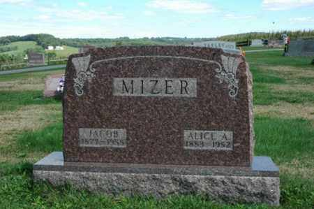MIZER, ALICE ADA - Tuscarawas County, Ohio | ALICE ADA MIZER - Ohio Gravestone Photos
