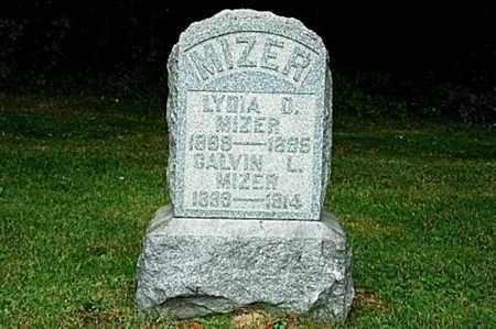 MIZER, CALVIN L. - Tuscarawas County, Ohio | CALVIN L. MIZER - Ohio Gravestone Photos