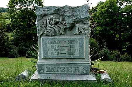 HAWK MIZER, CATHARINE - Tuscarawas County, Ohio | CATHARINE HAWK MIZER - Ohio Gravestone Photos