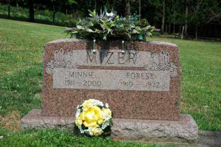 MIZER, FOREST - Tuscarawas County, Ohio | FOREST MIZER - Ohio Gravestone Photos