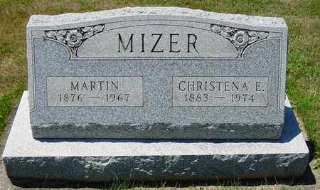 MIZER, CHRISTENA E. - Tuscarawas County, Ohio | CHRISTENA E. MIZER - Ohio Gravestone Photos