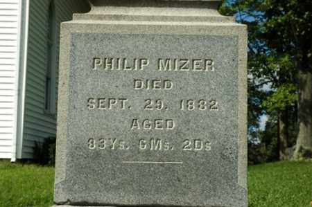 MIZER, PHILIP - Tuscarawas County, Ohio | PHILIP MIZER - Ohio Gravestone Photos