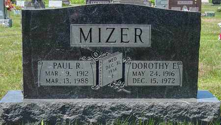 MIZER, PAUL R. - Tuscarawas County, Ohio | PAUL R. MIZER - Ohio Gravestone Photos
