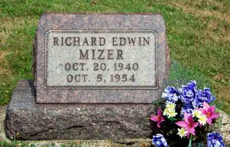 MIZER, RICHARD EDWIN - Tuscarawas County, Ohio | RICHARD EDWIN MIZER - Ohio Gravestone Photos