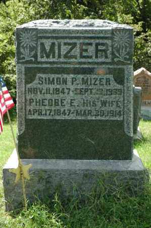 MIZER, SIMON P. - Tuscarawas County, Ohio | SIMON P. MIZER - Ohio Gravestone Photos