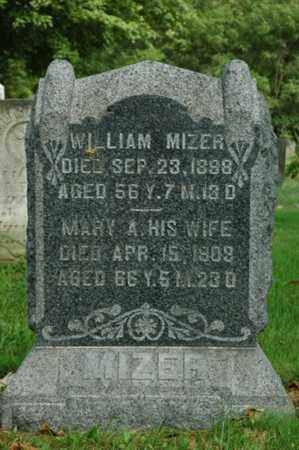 MIZER, MARY A. - Tuscarawas County, Ohio | MARY A. MIZER - Ohio Gravestone Photos