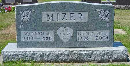 MIZER, WARREN A. - Tuscarawas County, Ohio | WARREN A. MIZER - Ohio Gravestone Photos