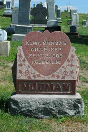 MOOMAW, ALMA - Tuscarawas County, Ohio | ALMA MOOMAW - Ohio Gravestone Photos