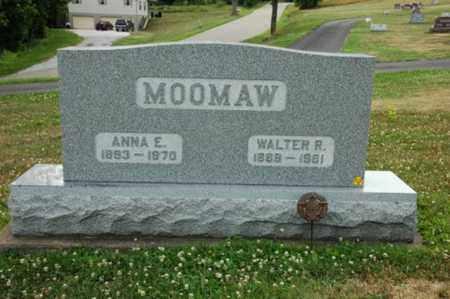 AMOS MOOMAW, ANNA E. - Tuscarawas County, Ohio | ANNA E. AMOS MOOMAW - Ohio Gravestone Photos