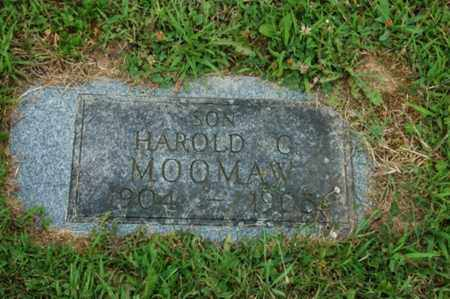 MOOMAW, HAROLD G. - Tuscarawas County, Ohio | HAROLD G. MOOMAW - Ohio Gravestone Photos
