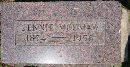 SNYDER MOOMAW, JENNIE - Tuscarawas County, Ohio | JENNIE SNYDER MOOMAW - Ohio Gravestone Photos