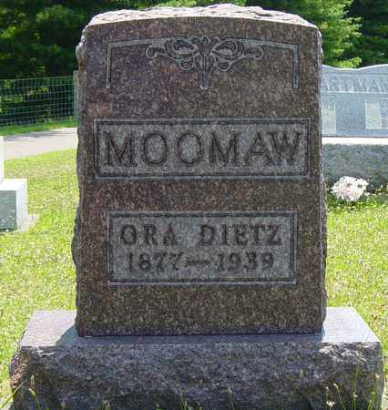 MOOMAW, ORA - Tuscarawas County, Ohio | ORA MOOMAW - Ohio Gravestone Photos