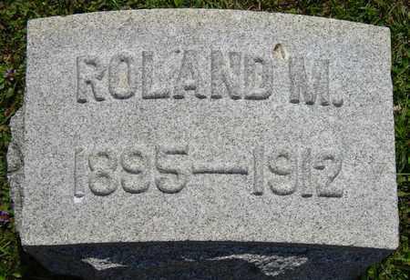 MOOMAW, ROLAND M. - Tuscarawas County, Ohio | ROLAND M. MOOMAW - Ohio Gravestone Photos