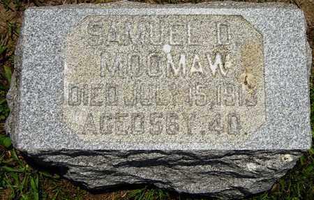 MOOMAW, SAMUEL D. - Tuscarawas County, Ohio | SAMUEL D. MOOMAW - Ohio Gravestone Photos