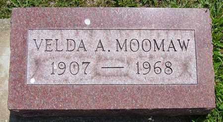MOOMAW, VELDA A. - Tuscarawas County, Ohio | VELDA A. MOOMAW - Ohio Gravestone Photos