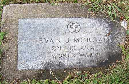 MORGAN, EVAN J.  (MIL) - Tuscarawas County, Ohio | EVAN J.  (MIL) MORGAN - Ohio Gravestone Photos