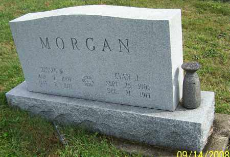 MORGAN, EVAN J. - Tuscarawas County, Ohio | EVAN J. MORGAN - Ohio Gravestone Photos