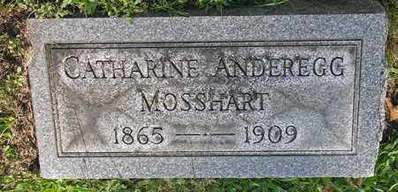 MOSSHART, CATHARINE - Tuscarawas County, Ohio | CATHARINE MOSSHART - Ohio Gravestone Photos