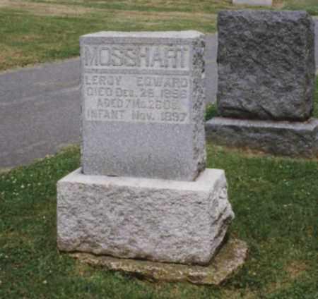 MOSSHART, LEROY EDWARD - Tuscarawas County, Ohio | LEROY EDWARD MOSSHART - Ohio Gravestone Photos
