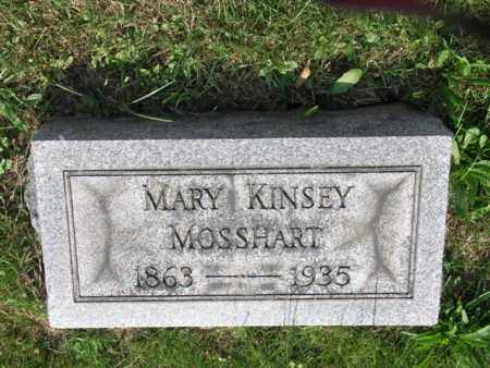 KINSEY MOSSHART, MARY - Tuscarawas County, Ohio | MARY KINSEY MOSSHART - Ohio Gravestone Photos