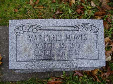 MOWLS, MARJORIE - Tuscarawas County, Ohio | MARJORIE MOWLS - Ohio Gravestone Photos