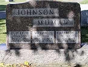MUMAW, ELIZABETH - Tuscarawas County, Ohio | ELIZABETH MUMAW - Ohio Gravestone Photos