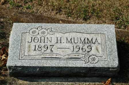 MUMMA, JOHN H. - Tuscarawas County, Ohio | JOHN H. MUMMA - Ohio Gravestone Photos