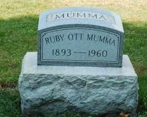MUMMA, RUBY - Tuscarawas County, Ohio | RUBY MUMMA - Ohio Gravestone Photos