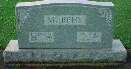 MURPHY, DONALD D. - Tuscarawas County, Ohio | DONALD D. MURPHY - Ohio Gravestone Photos